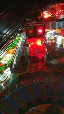 Supercharger Ramp Lights for Getaway High Speed II Pinball - Interactive w/ Game
