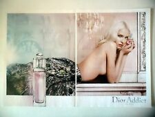 PUBLICITE-ADVERTISING :  DIOR Addict Eau Fraiche [2pages] 2015 Sasha Luss,Parfum