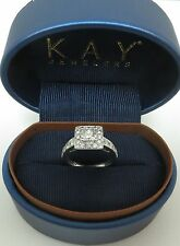 1.45CT LEO CERTIFIED ARTISAN DIAMOND 14K ENGAGEMENT RING KAY FULL GUARANTEE