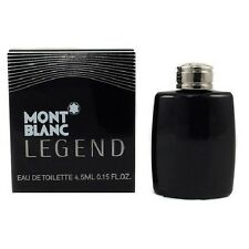 Mini Mont Blanc Legend by Mont Blanc 0.15 oz EDT Cologne for Men Tester
