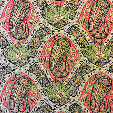 OR129 Tommy Bahama Palm Tree Tropical Paisley Indoor Outdoor Home Decor Fabric