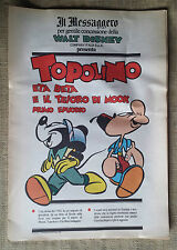Topolino Eta Beta e il tesoro di Mook pt 1 - suppl.  Messaggero - Walt Disney
