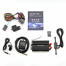 GPRS GSM SMS Vehicle Car GPS Tracker TK103A Tracking Device Equip Alarm System