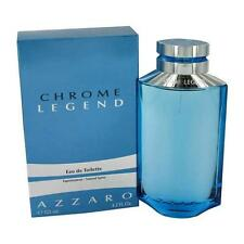 CHROME LEGEND by Azzaro 4.2 oz EDT eau de toilette Men's Spray Cologne Tester