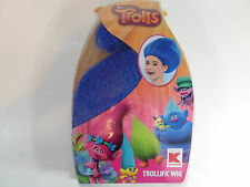Trolls Dreamworks Blue Wig Girl New Dress Up Play Costume Age 3+Trollific Hair