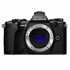 Olympus OM-D E-M5 Mark II Body (Black) w/FREE 64GB SDXC *NEW*