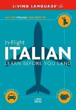 In-Flight Italian: Learn Before You Land (Italian and English Edition) Living L