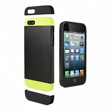 GENUINE Cygnett iPhone 5 5S SE Alternate Dockable 2 Tone Case Cover CY1225CPALT