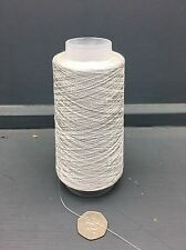 100G SILVER GREY COLOUR 2/80NM 100% FINE SILK YARN SILVER2