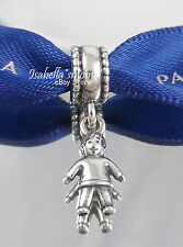 RETIRED Genuine PANDORA Son BOY Kid Sterling 925 Silver Charm DANGLE 790859 NEW