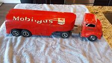 Smith Miller Mobil Oil Tanker Truck - Metal Toy - Vintage