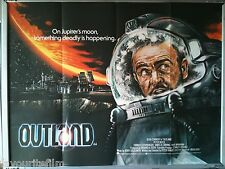 Cinema Poster: OUTLAND 1981 (Quad) Sean Connery Steven Berkoff James Sikking