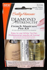 SALLY HANSEN New French Manicure Pen Kit Diamond Strength #3228 Barely There NIB