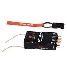"6ch. ed7000e receiver destinatario dsm2 ""top +/- 800 m"", para espectro dx6i, dx7s, etc."