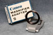 CANON MAGNIFIER ADAPTER S IN BOX