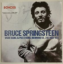 Bruce Springsteen WGOE Radio, Alpha Studios, Richmond, VA 31st May 1973 LP UK