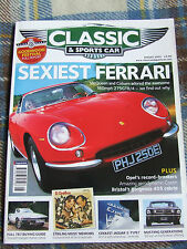 CLASSIC & SPORTS CAR AUG 2005 FERRARI McQUEEN COBURN 275GTB/4 OPEL RECORD BREAKE