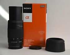 Sony SAL 75-300mm f/4.5-5.6 CS Lens