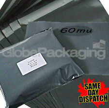 """200 x 10x14 *Grey Postage Mailing Bags* OFFER 10"""" x 14"""""""