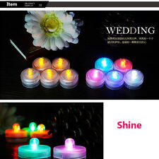 Romantic Blow On / Off Flameless LED Electronic Candle Night light Tea Lamp