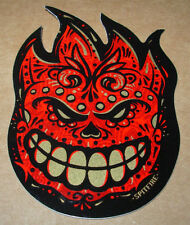 "SPITFIRE MUERTO Logo Skate Sticker 2.5 X 3.25"" skateboards helmets decal"