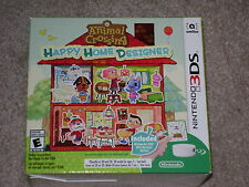 ANIMAL CROSSING HAPPY HOME DESIGNER + 3DS NFC READER/WRITER..**SEALED**NEW**