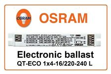 Electronic ballast QT-ECO 1x4-16/220-240L OSRAM T5 tube 4W 6W 8W 10W 13W 14W 16W