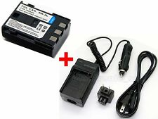 NB-2L Battery & Charger For Canon VIXIA HF R100 HFR100 HF R11 HFR11 HF R10 HFR10