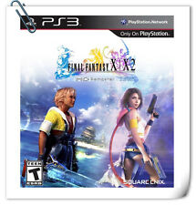 【2 IN 1】 PS3 PlayStation FINAL FANTASY X / X-2 HD REMASTER RPG Square Enix
