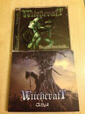 "WITCHCRAFT (Russia) ""The Voice from Inside"" + ""Ash"" 2CD SET female fronted metal"