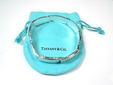 Tiffany & Co. Men's Sterling Silver METROPLIS Link Bracelet– Tiffany Pouch