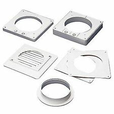 "Kitchen Extractor Fan WINDOW VENTING KIT Duct & Grille 6""/150mm"