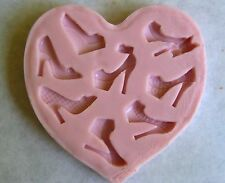 High Heel Silicone Mold for Cake Decorating, Fondant, Chocolate, Gum Paste