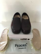 Pedors Vienna Chestnut brown 202 Bunions Orthopedic Shoes new slip on mules