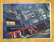 Chris Skinner Highway 26 Akira foil print, free ship USA, a beauty