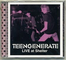 Teengenerate - Live At Shelter CD FIRST JAPAN PRESS Garage Raydios Supersnazz
