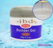 Made in 2016 New Original Strong IBD UV Builder Gel Nail Art Clear 2oz / 56g HOT