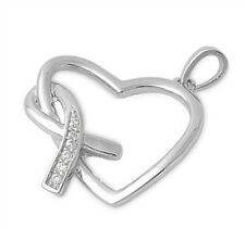 Silver Pendant with Cubic Zirconia Mother and Child Silver modern new fashion