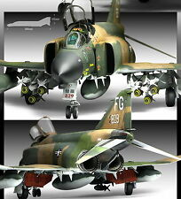 "ACADEMY 1/48 Aircraft ""Vietnam War"" USAF F-4C Phantom 2 Plastic Model Kit 12294"