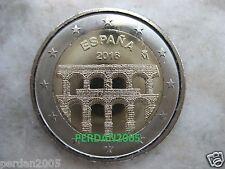 SPAGNA 2016 2 EURO ACQUEDOTTO DI SEGOVIA ESPAGNE ESPANA SPAIN SPANIEN ИСПАНИЯ