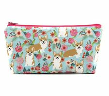 Cosmetic Bag, Zip Pouch, Makeup Bag, Pencil Case, Bag  - Welsh Corgi Dog