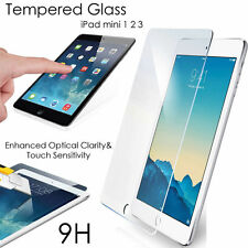 100% Genuine Tempered Glass Film Screen Protector For Apple iPad Mini 1/2/3