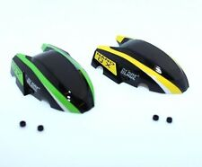 Blade Nano QX BLH7614 Green & Yellow Canopies w/ Mounting Grommets