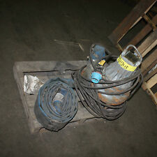 """Flygt 3 phase Submersible Portable Solids Handling Pump 3085 182 2kW 1390rpm 3"""""""