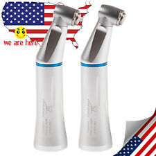 2x Dental E-type Low Speed Contra Angle Handpiece Internal Water Spray US Stock