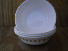 Corelle Butterfly Gold 18 Oz. Soup Cereal Or Salad Bowls Set Of 4