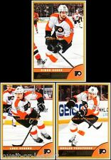3x SCORE 2013 GAGNE #380 SCHENN #370 FEDOTENKO #379 FLYERS ** GOLD ** CARDS LOT
