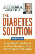 The Diabetes Solution: How to Control Type 2 Diabetes and Reverse Pred-ExLibrary