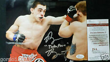 "Ryan Benoit ""Baby Face"" MMA UFC Autograph 8x10 Signed Picture Photo Boxing JSA"