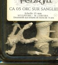 FENRYLL 1  BLISTER CA 05 ORC SUR SANGLIER